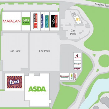 Abbey Wood Shopping Park stores plan