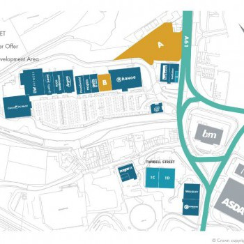Barnsley Peel Retail Park stores plan
