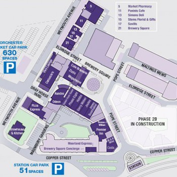 Brewery Square stores plan