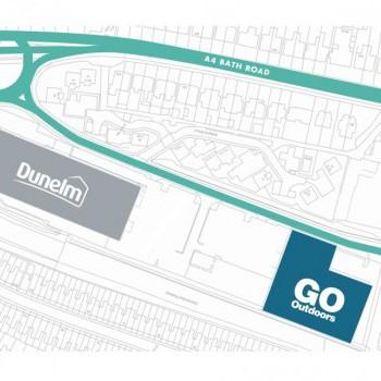Brislington Retail Park stores plan