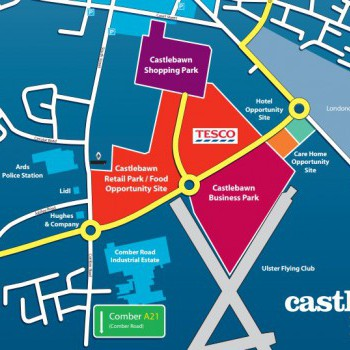 Castlebawn Retail Park stores plan