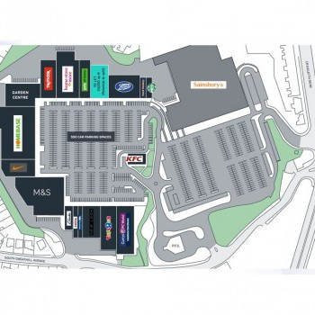 Craigleith Shopping Park stores plan
