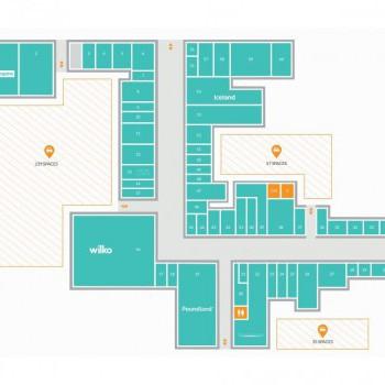 Crossgates Shopping Centre stores plan