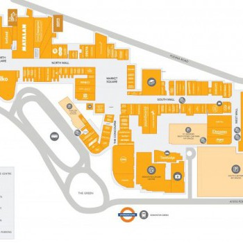 Edmonton Green Shopping Centre stores plan