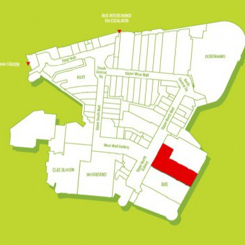 Frenchgate Shopping Centre stores plan