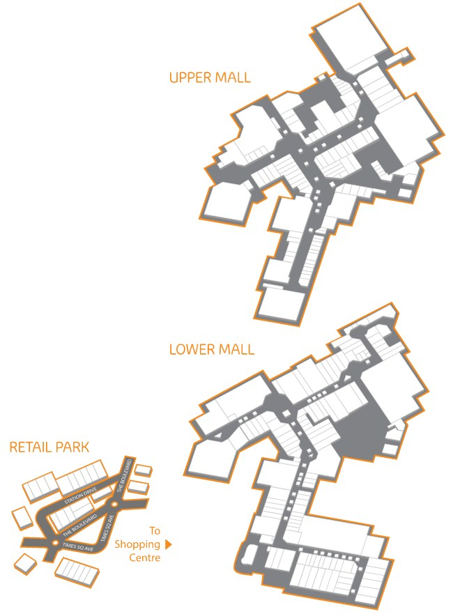 Merry Hill Map Intu Merry Hill   196 stores (shopping centre in Brierley Hill