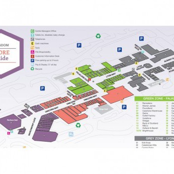 Kingdom Shopping centre stores plan