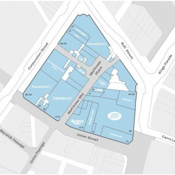 Martineau Place stores plan