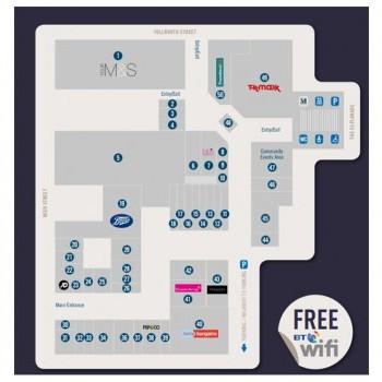 Mercat Shopping Centre stores plan