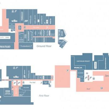 Middleton Shopping Centre stores plan