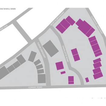 Mostyn Champneys Retail Park stores plan