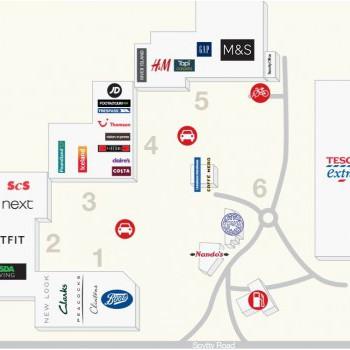 Newport Retail Park stores plan