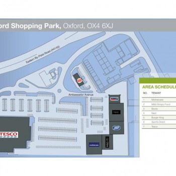 Oxford Retail Park stores plan