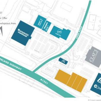 Peel Retail Park Washington stores plan