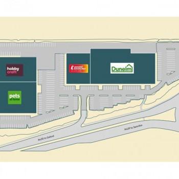 Saint Margarets Retail Park stores plan
