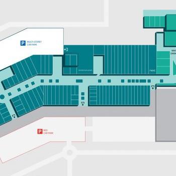Silverburn Shopping Centre stores plan