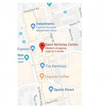 St Nicholas Centre stores plan