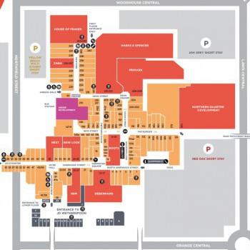 Telford Shopping Centre stores plan