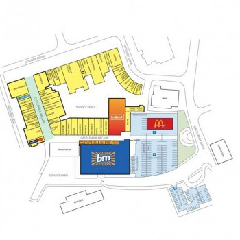 The Braes shopping centre stores plan