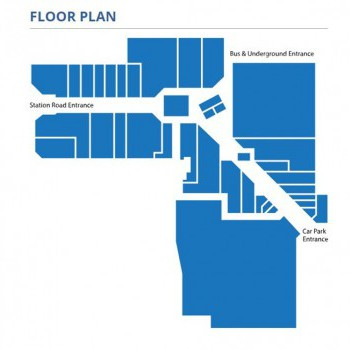 The Broadwalk Centre stores plan