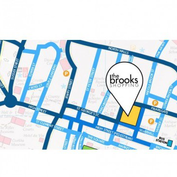 The Brooks Shopping Centre stores plan