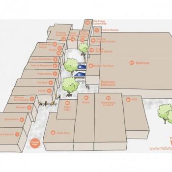 The Furlong Shopping Centre stores plan