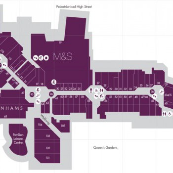 The Glades stores plan
