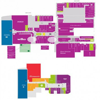The Harvey Shopping Centre stores plan
