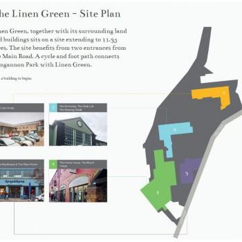 The Linen Green stores plan