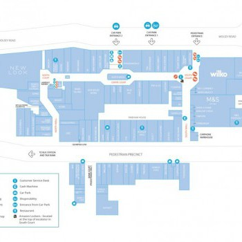 The Marlowes Shopping Centre stores plan