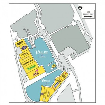 Valley Retail Park stores plan