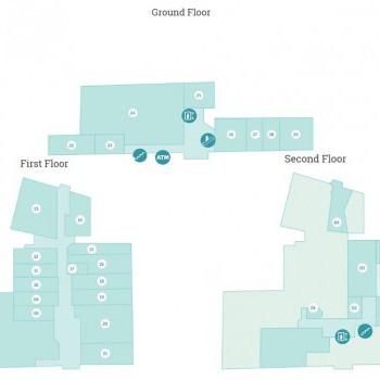 Wharfside Shopping Centre stores plan