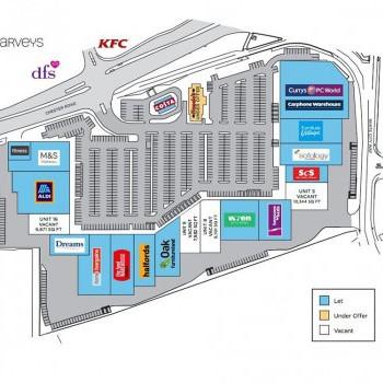 White City Retail Park stores plan