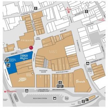 Whitefriars stores plan