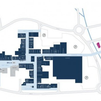 Yate Shopping Centre stores plan